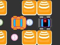 Флеш игра Преследование игрушечной машинки