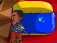 Флеш игра Президентский пейнтбол