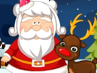 Флеш игра Прическа для Деда Мороза