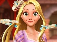 Флеш игра Прическа для принцессы Рапунцель