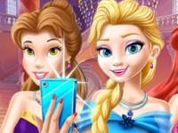 Флеш игра Приготовь принцесс к балу
