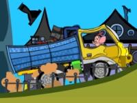 Флеш игра Приключения Билли на грузовике
