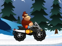 Флеш игра Приключения Кинг-Конга во льдах