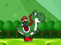 Флеш игра Приключения Марио и Йоши 2