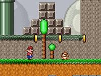 Флеш игра Приключения Марио с реалистичным движением
