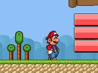 Флеш игра Приключения Марио