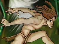 Флеш игра Приключения Тарзана в гибельных джунглях
