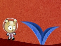 Флеш игра Приключения Япи на красной планете