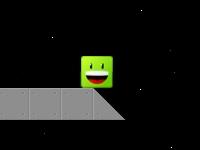 Флеш игра Приключения Зеленого в космосе