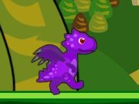 Флеш игра Приключения дракона