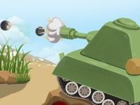 Флеш игра Приключения игрушечного танка
