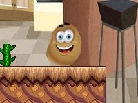 Флеш игра Приключения картошки