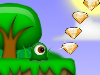 Флеш игра Приключения мальчика-желе