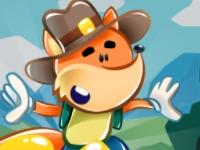 Флеш игра Приключения маленького лиса