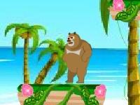 Флеш игра Приключения медведя 2