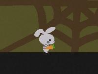 Флеш игра Приключения милого кролика