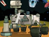 Флеш игра Приключения на Марсе: Гонка на марсоходе