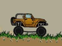Флеш игра Приключения на грузовике монстре 3