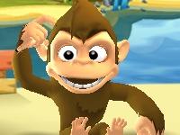 Флеш игра Приключения обезьянки на острове