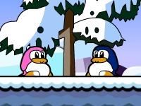 Флеш игра Приключения пингвинов 2