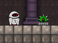 Флеш игра Приключения робота