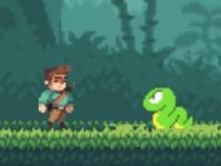 Флеш игра Приключения в джунглях