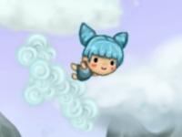 Флеш игра Приключения в облаках