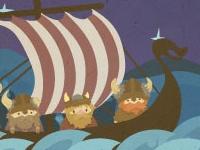 Флеш игра Приключения викингов
