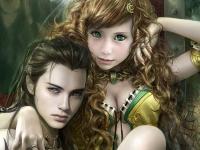Флеш игра Принц и принцесса: Пазл