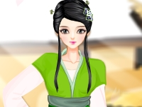 Флеш игра Принцесса Минг