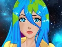 Флеш игра Принцесса Земля-тян