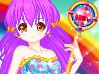 Флеш игра Принцесса радуги