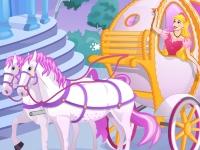 Флеш игра Принцесса в карете