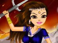 Флеш игра Принцесса-воин