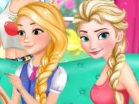 Флеш игра Принцессы готовятся к Пасхе