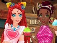 Флеш игра Принцессы и пирожные