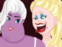 Флеш игра Принцессы и злодеи меняются лицами