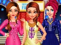 Флеш игра Принцессы на гала-концерте в Болливуде