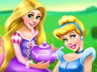 Флеш игра Принцессы на пикнике
