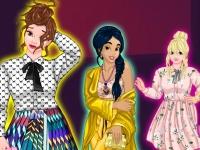 Флеш игра Принцессы на подиуме плюс