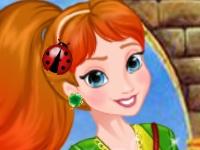 Флеш игра Принцессы на вечеринке в день святого Патрика