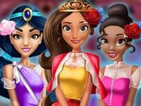Флеш игра Принцессы на выпускном вечере