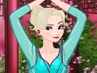 Флеш игра Принцессы на йоге
