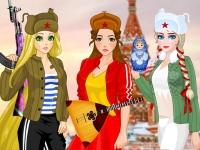 Флеш игра Принцессы в России