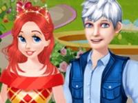 Флеш игра Принцессы выбирают парней для свидания