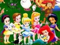 Флеш игра Принцы и принцессы: Пазл