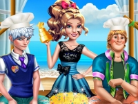 Флеш игра Принцы на кулинарном челлендже