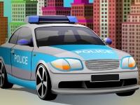 Флеш игра Припаркуй авто полиции