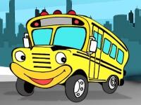 Флеш игра Припаркуй автобус