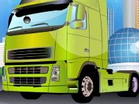 Флеш игра Припаркуй мой грузовик
